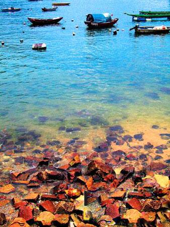 香港南丫岛 最想停下脚步听海的声音